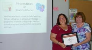 heidi certificate