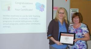 liz certificate