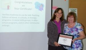 michelle certificate