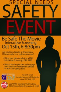 Event Flyer (Urbana)