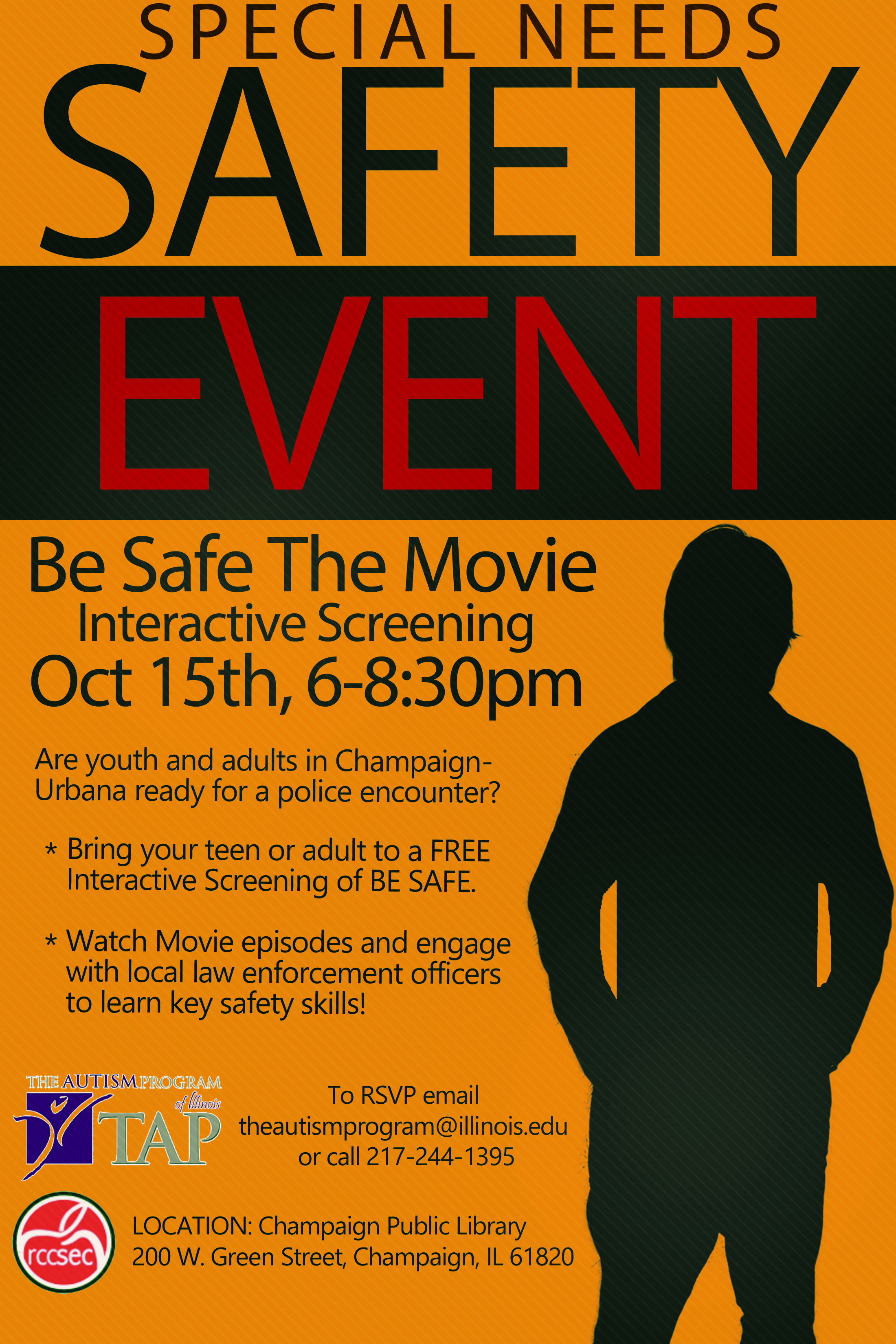 october 15 be safe interactive screening be safe the movie
