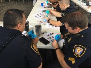 Officers learn about accommodating fine motor issues