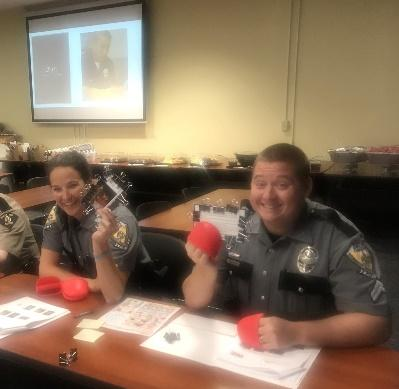 This Experience Autism simulation helped officers experience the benefits of accommodating disabilities
